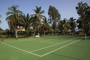 Court de tennis a Assinie